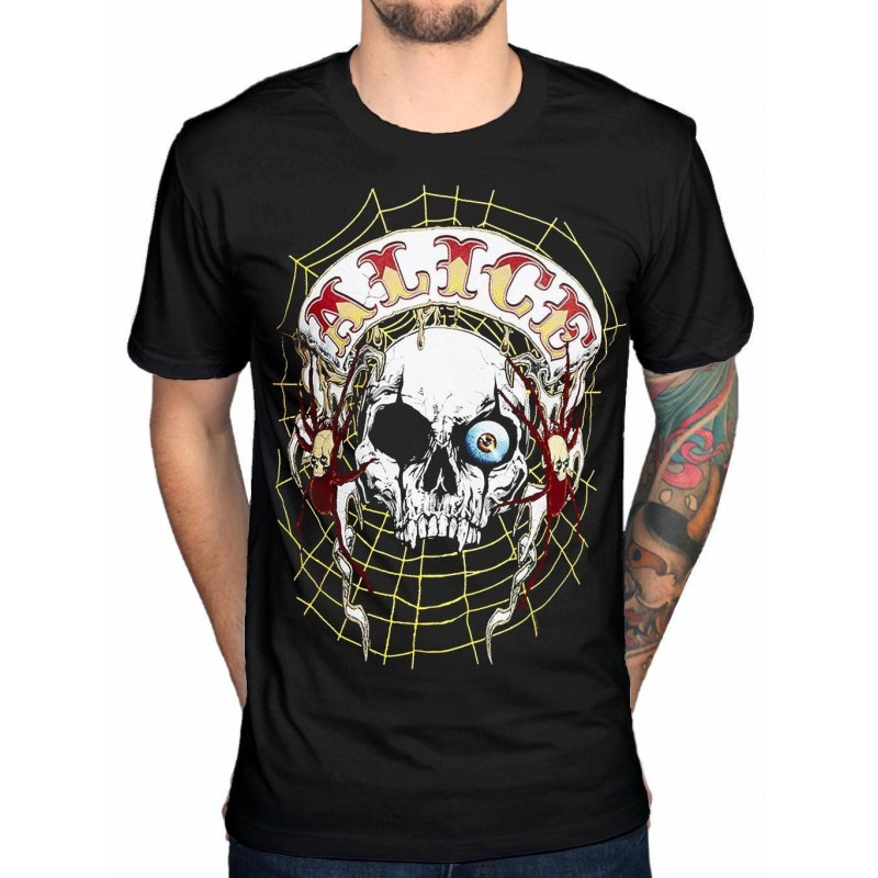 Tricou Alice Cooper Band Back Patch