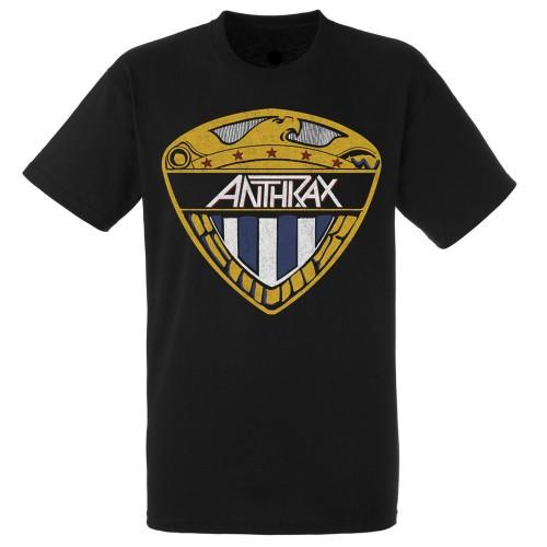 Tricou Anthrax Eagle Shield