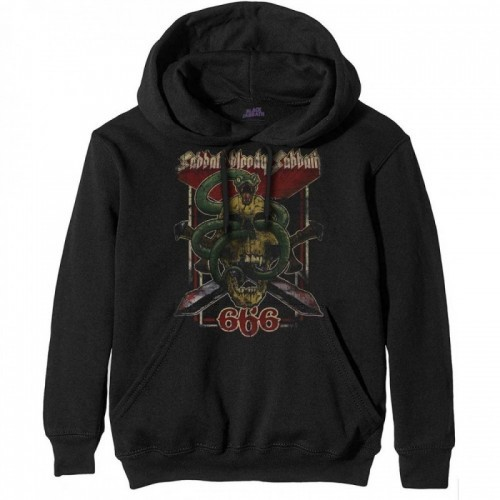 Hanorac Black Sabbath Bloody Sabbath 666