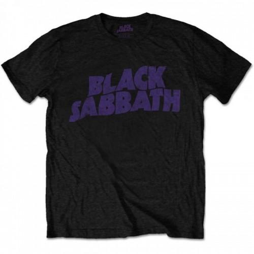 Tricou Black Sabbath Vintage Wavy Logo