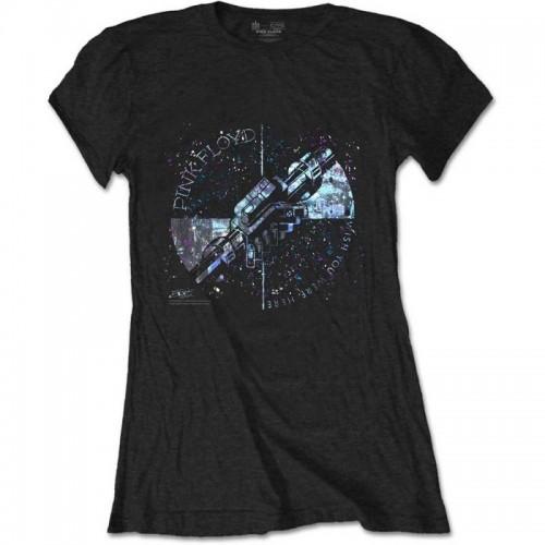 Tricou Damă Pink Floyd Machine Greeting Blue