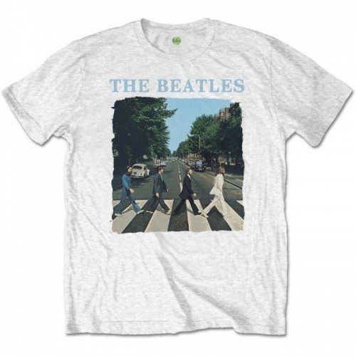 Tricou Beatles The Abbey Road & Logo