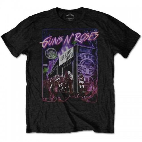 Tricou Guns N' Roses Sunset Boulevard