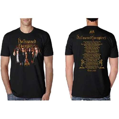 Tricou Hollywood Vampires Photo Vampires 2018 Dates Back