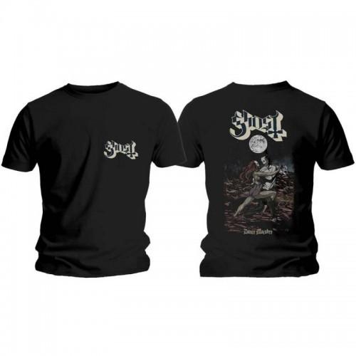 Tricou Ghost Dance Macabre Cover & Logo