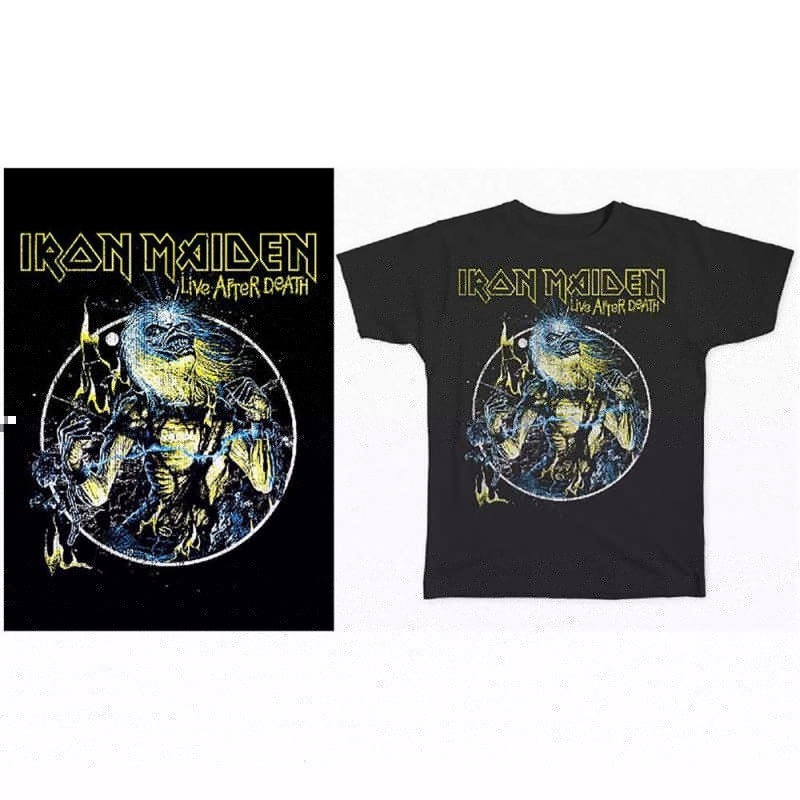 Tricou Iron Maiden Live After Death