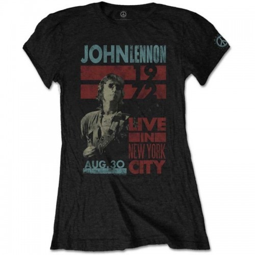 Tricou Damă John Lennon Live in NYC