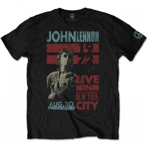 Tricou John Lennon Live in NYC