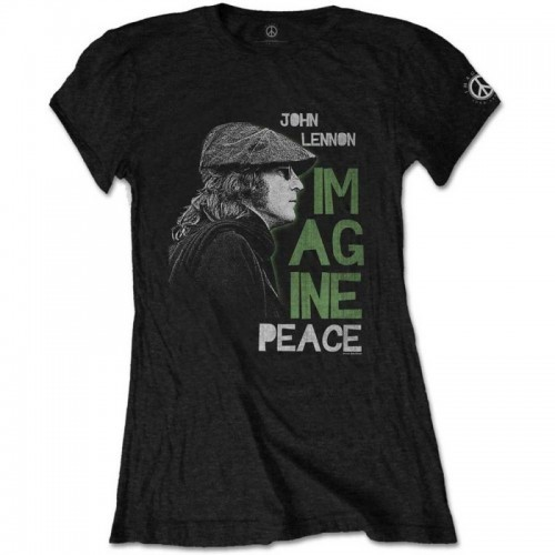 Tricou Damă John Lennon Imagine Peace