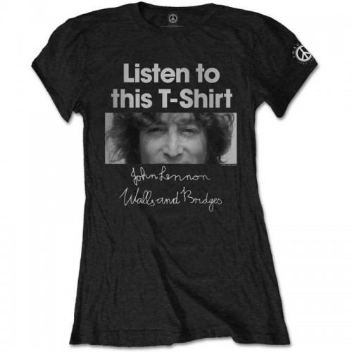 Tricou Damă John Lennon Listen Lady