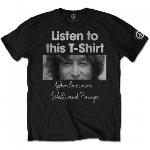 Tricou John Lennon Listen Lady