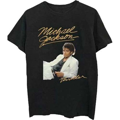 Tricou Michael Jackson Thriller White Suit