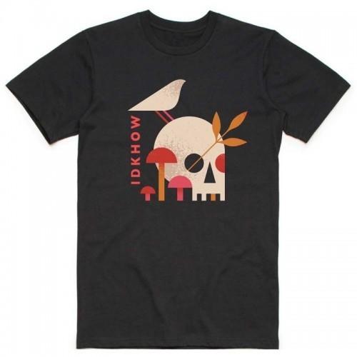 Tricou iDKHow Mushroom Skull