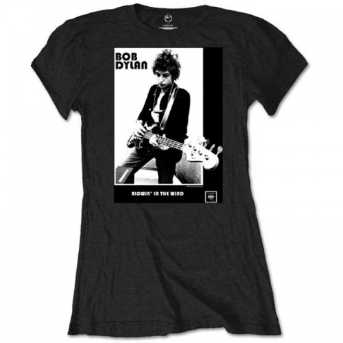 Tricou Damă Bob Dylan Blowing in the Wind