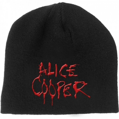 Caciula Alice Cooper Dripping Logo