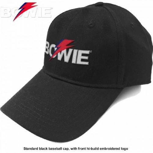 Șapcă David Bowie Aladdin Sane Bolt Logo