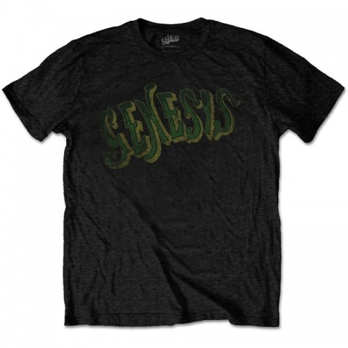 Tricou Genesis Vintage Logo - Green