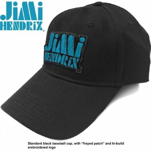Șapcă Jimi Hendrix Blue Stencil Logo