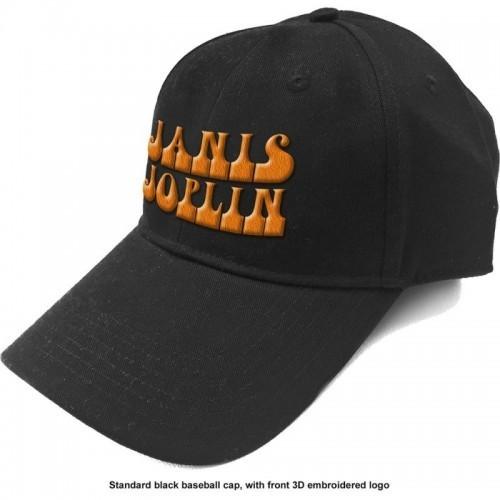 Șapcă Janis Joplin Orange Logo