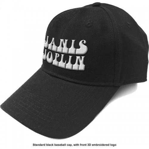 Șapcă Janis Joplin White Logo
