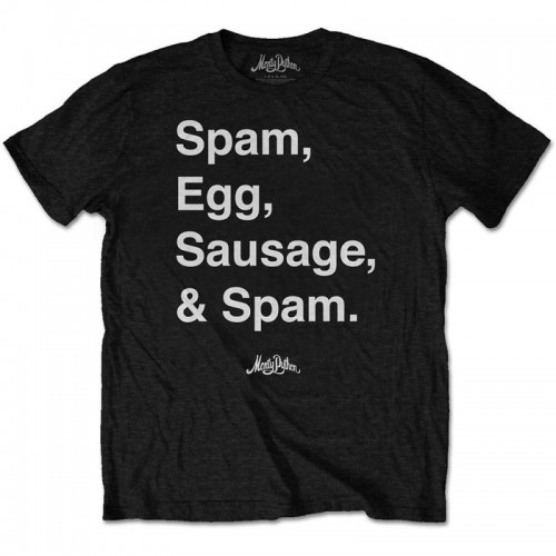 Tricou Monty Python Spam