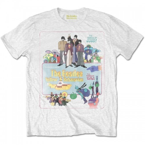 Tricou Beatles - The Yellow Submarine Vintage Movie Poster
