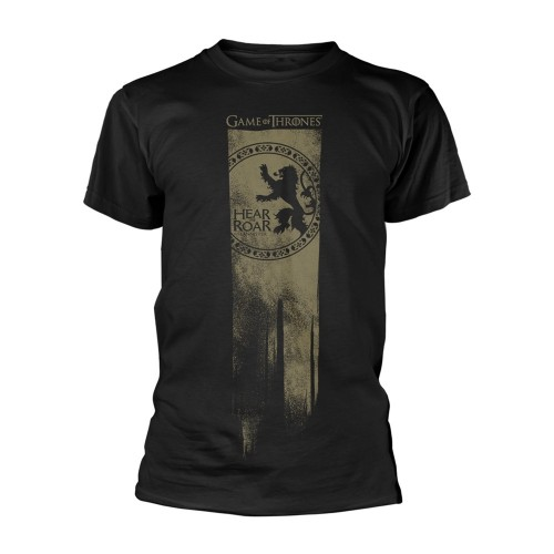 Tricou Game Of Thrones Lannister Flag - Hear Me Roar