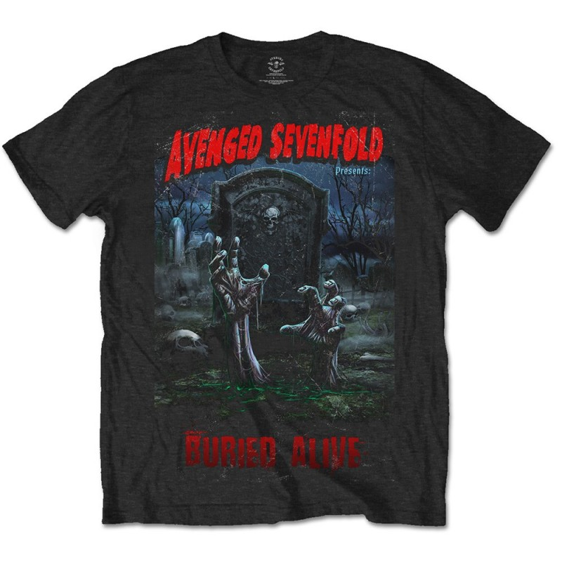 Tricou Avenged Sevenfold Buried Alive Tour 2012