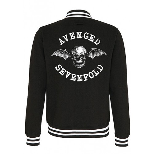 Jaheta Varsity Avenged Sevenfold Death Bat