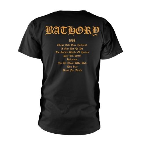 Tricou Bathory Blood Fire Death