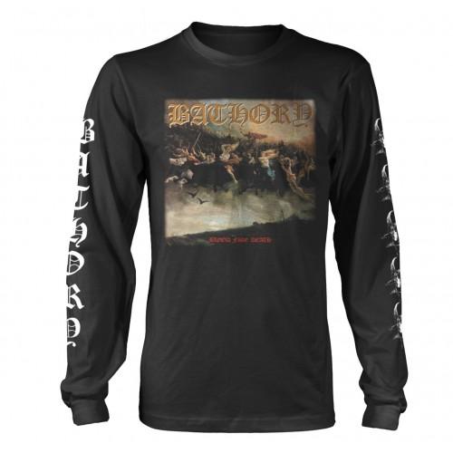 Tricou mânecă lungă Bathory Blood Fire Death