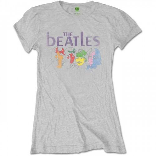 Tricou Damă Beatles - The White Album Back