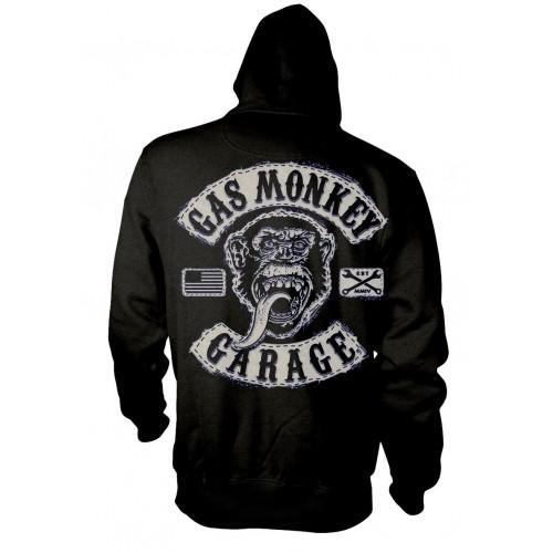 Hanorac cu fermoar Gas Monkey Garage Logo