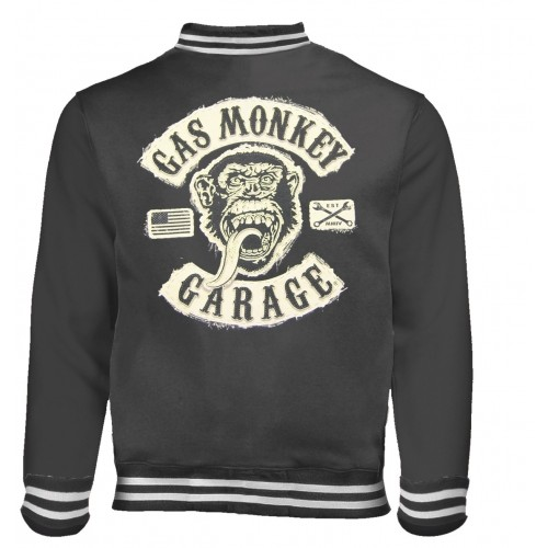 Jachetă Varsity Gas Monkey Garage Logo