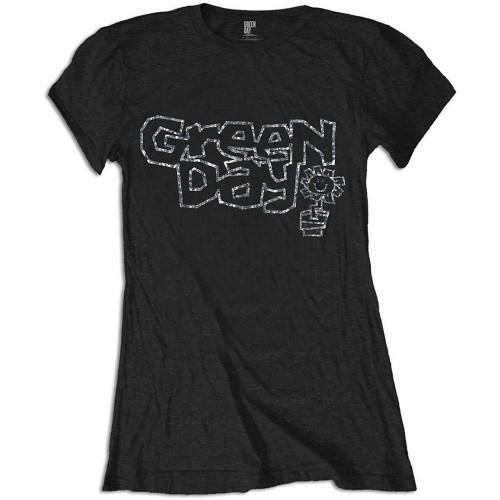 Tricou Damă Green Day Flower Pot