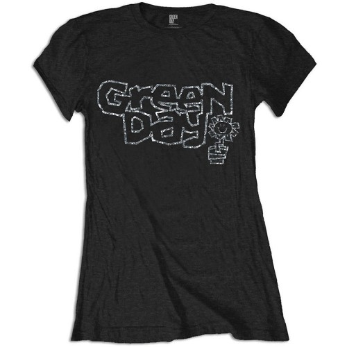 Tricou Damă Green Day Flower Pot
