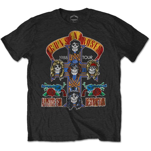 Tricou Guns N' Roses NJ Summer Jam 1988