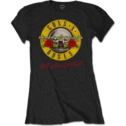 Tricou Damă Guns N' Roses Not In This Lifetime Tour