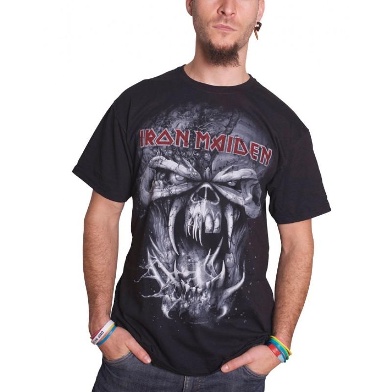 Tricou Iron Maiden Final Frontier Eddie Vintage