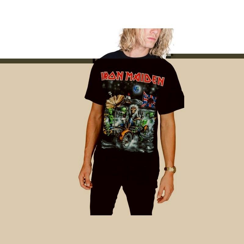 Tricou Iron Maiden Knebworth Moon buggy