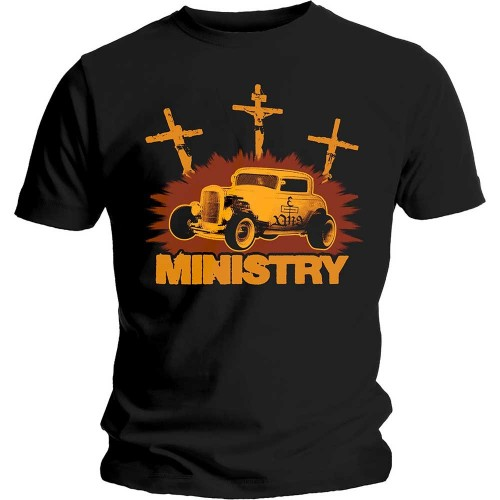 Tricou Ministry Hot Rod