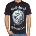 Tricou Motorhead The World is your Album
