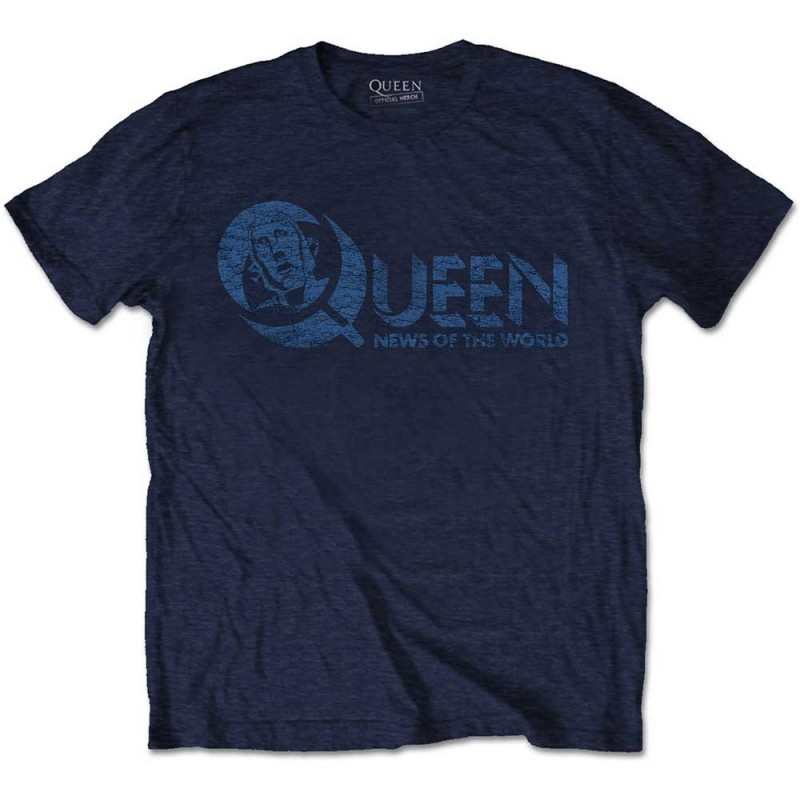 Tricou Queen News of the World 40th Vintage Logo