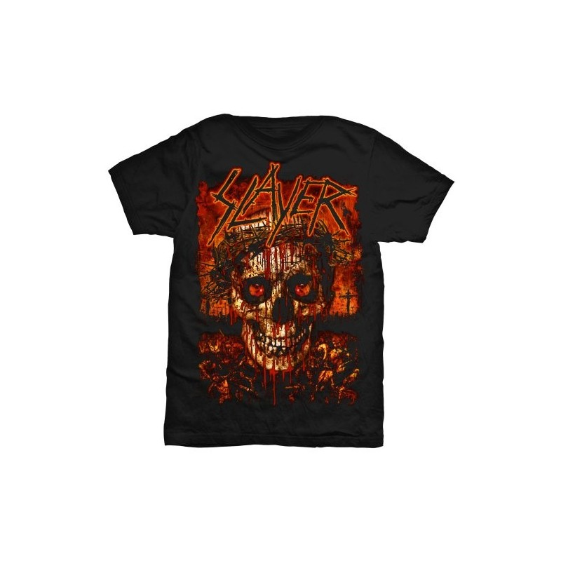 Tricou Slayer Crowned Skull