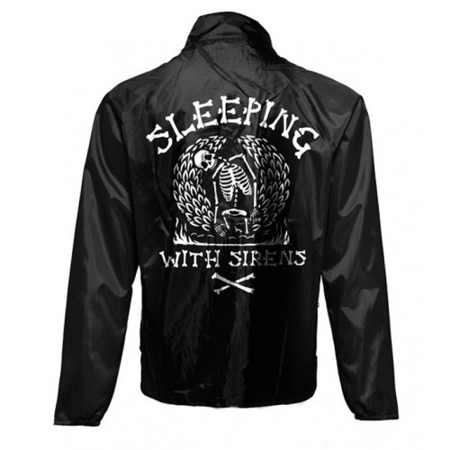 Jachetă de Vant Sleeping With Sirens Skeleton