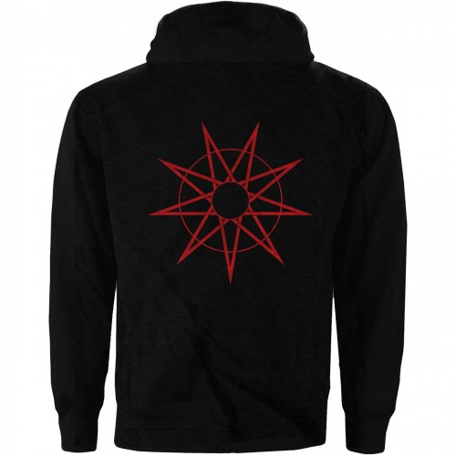 Hanorac cu fermoar Slipknot 9 Point Star