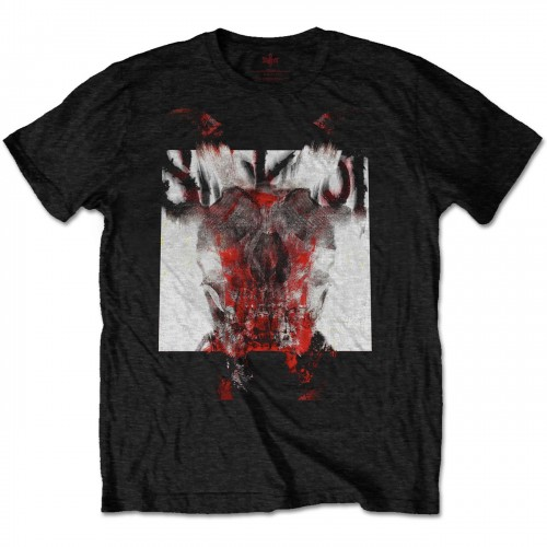 Tricou Slipknot Devil Single - Logo Blur