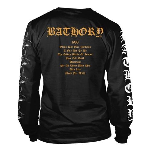 Tricou maneca lunga Bathory Blood Fire Death 2