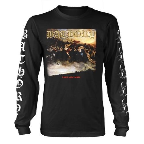 Tricou mânecă lungă Bathory Blood Fire Death 2