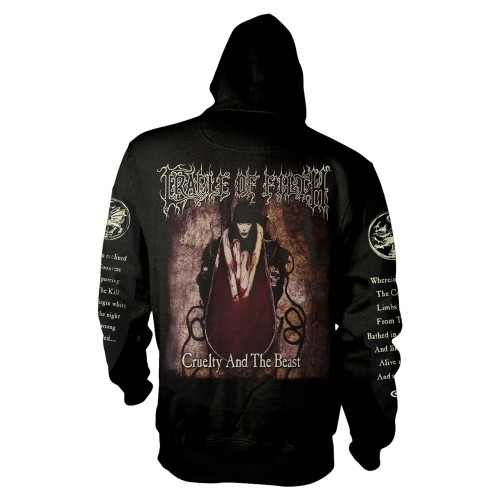 Hanorac cu fermoar Cradle Of Filth Creulty And The Beast
